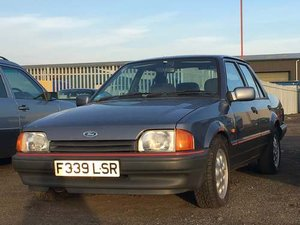1988 Ford Orion Ghia I at Morris Leslie Auction 23rd February SOLD by Auction