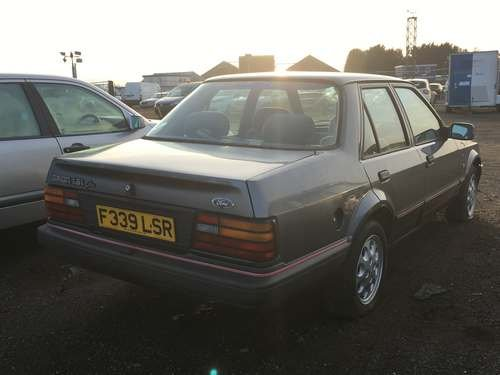1988 Ford Orion Ghia I at Morris Leslie Auction 23rd February SOLD by Auction (picture 2 of 5)
