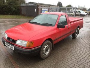 1993 Ford P100 TD Pickup at Morris Leslie Auction 17th August For Sale by Auction