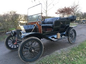 1911 RHD Model T Ford Tourer For Sale