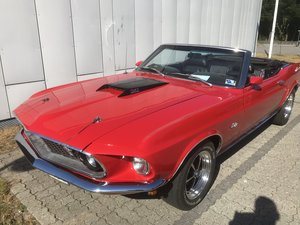 1969 mustang convertible 347 stroker For Sale