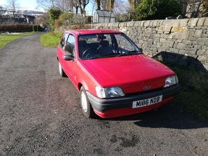 1994 Ford Fiesta 1.1, MK3.5, three door Manual For Sale