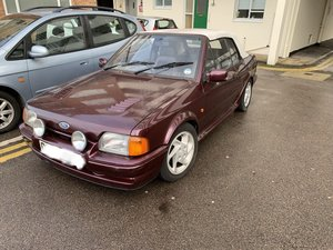 1991 Ford Escort cabriolet RS Turbo