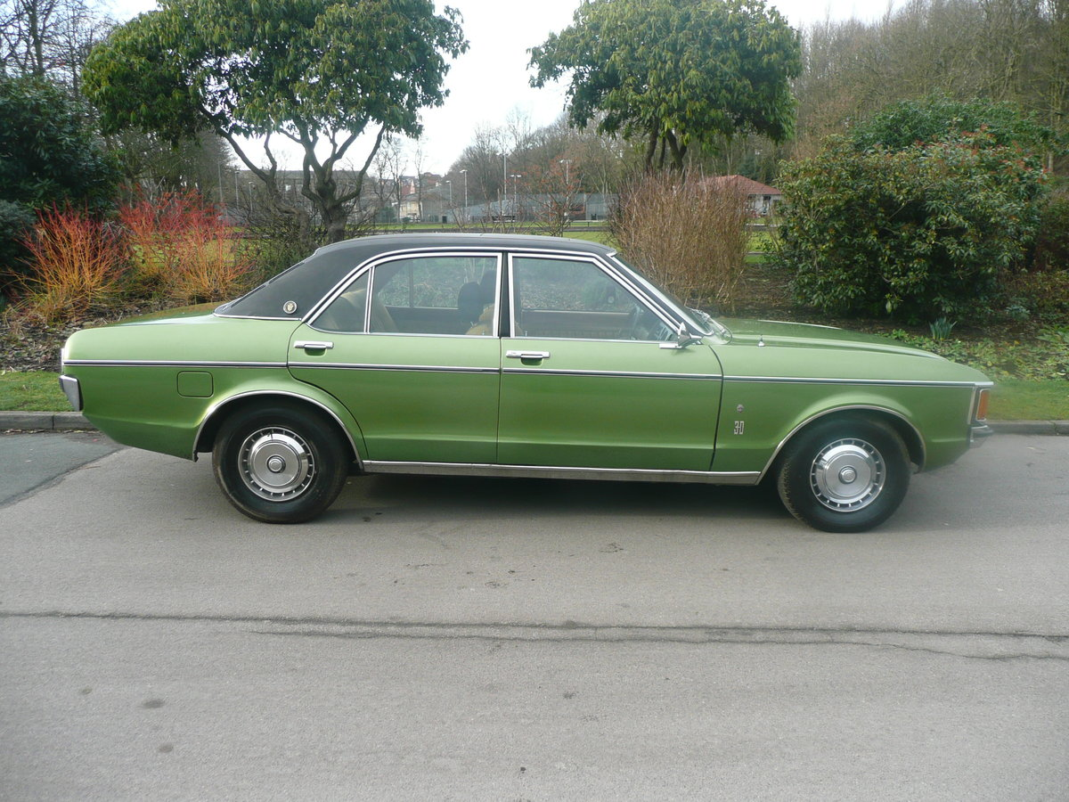 1974 Ford grananda 3.0 ghia auto mk 1 superb For Sale (picture 1 of 6)
