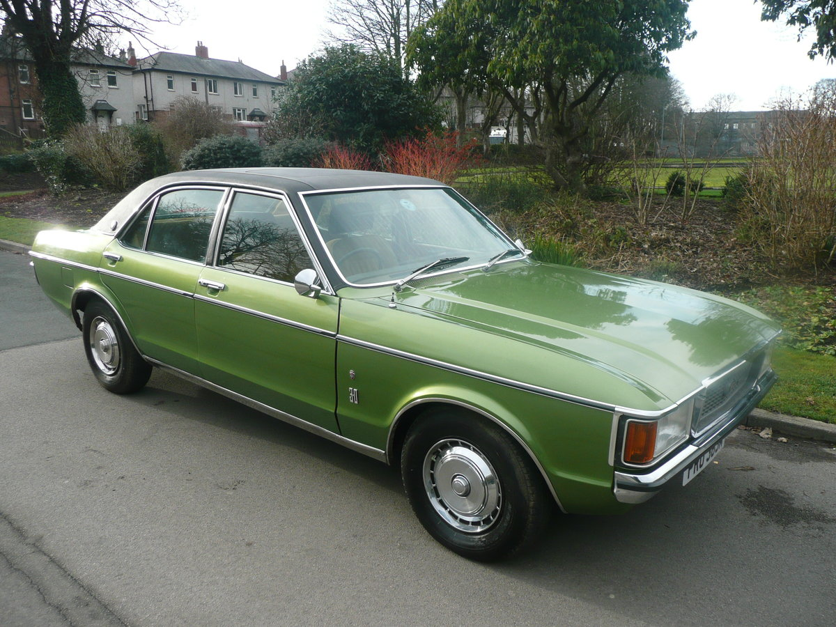 1974 Ford grananda 3.0 ghia auto mk 1 superb For Sale (picture 2 of 6)