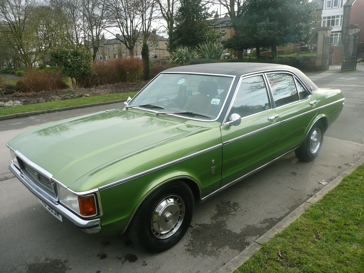 1974 Ford grananda 3.0 ghia auto mk 1 superb For Sale (picture 3 of 6)