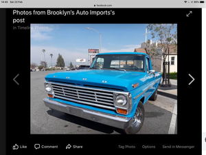 Ford f100 1969 truck v8 360 stunning example For Sale