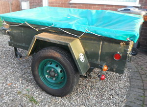 1964 Ford M416 Trailer