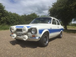 1973 Mk1 Ford Escort RS2000 LVX942M For Sale