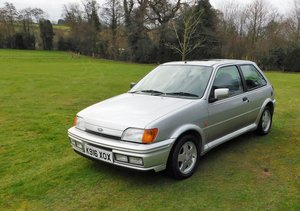 1993 Ford Fiesta XR2i with 1 previous owner and 42000 miles For Sale by Auction