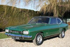 1972 MK1 Ford Capri 1600 GT XLR SVO.Very rare.Stunning Condition  For Sale
