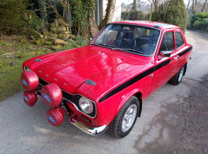 1972 FORD ESCORT 1600 MEXICO  BUILT TO PERFECTION  For Sale