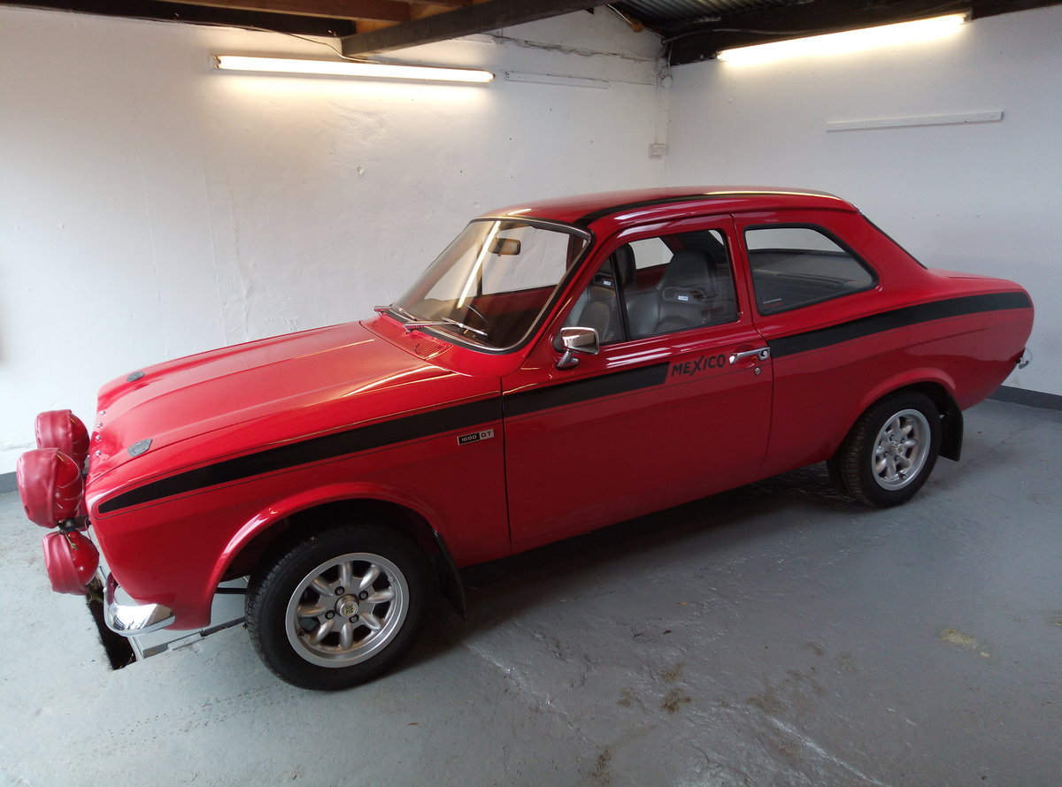 1972 FORD ESCORT 1600 MEXICO  BUILT TO PERFECTION  For Sale (picture 4 of 6)
