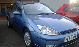 2003 FORD FOCUS 1,8 GHIA SOLD