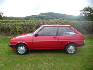 1985 ford fiesta popular plus 1.6 diesel