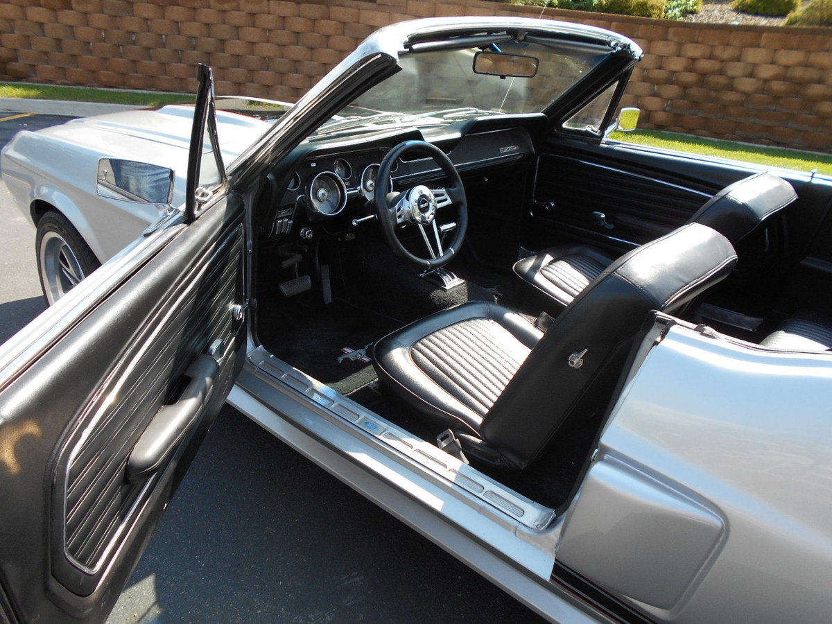 1968 Ford Mustang Shelby Eleanor GT350 Convertible For Sale (picture 5 of 6)