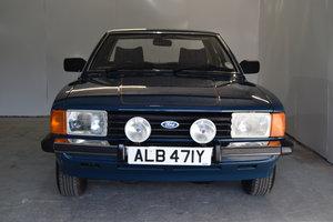 1982 Ford Cortina 1.6 Crusader, Just 52936 Miles.  SOLD