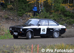 Ford Escort historic group B rally car. For Sale