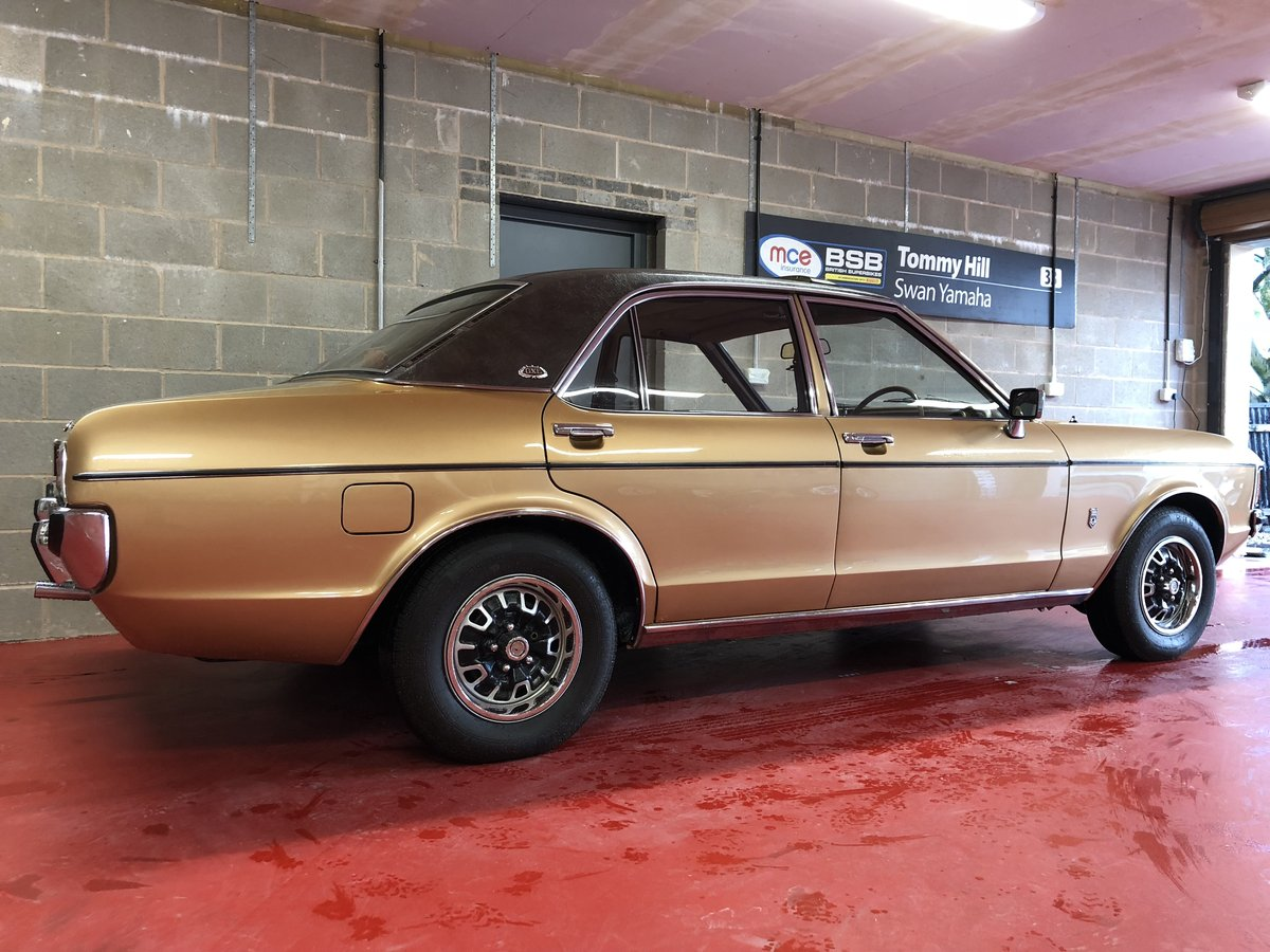 FORD GRANADA V6 3.0 GXL1975 GXL MINTER 60K MILE OFFERS PX For Sale (picture 1 of 6)