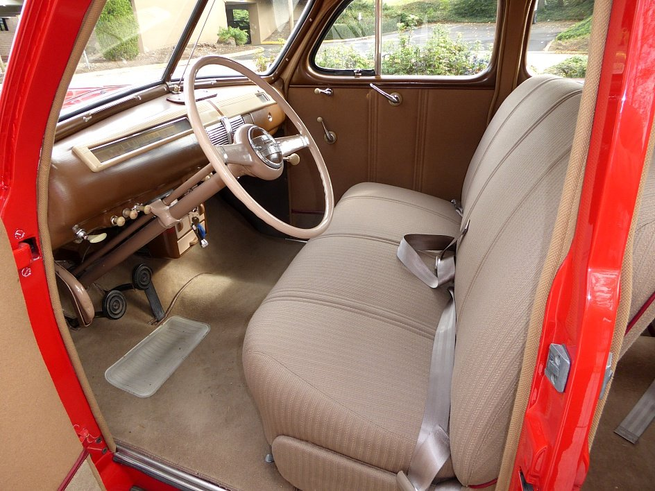 1941 Ford Super Deluxe Restored(~)Tan driver $22.5k For Sale (picture 4 of 6)