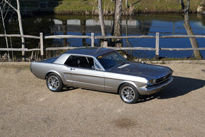 1965 Ford Mustang 302 V8 Auto Genuine Cali Black Plate  For Sale
