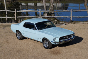 1967 Ford Mustang 289 Automatic Coupe Arcadian Blue For Sale