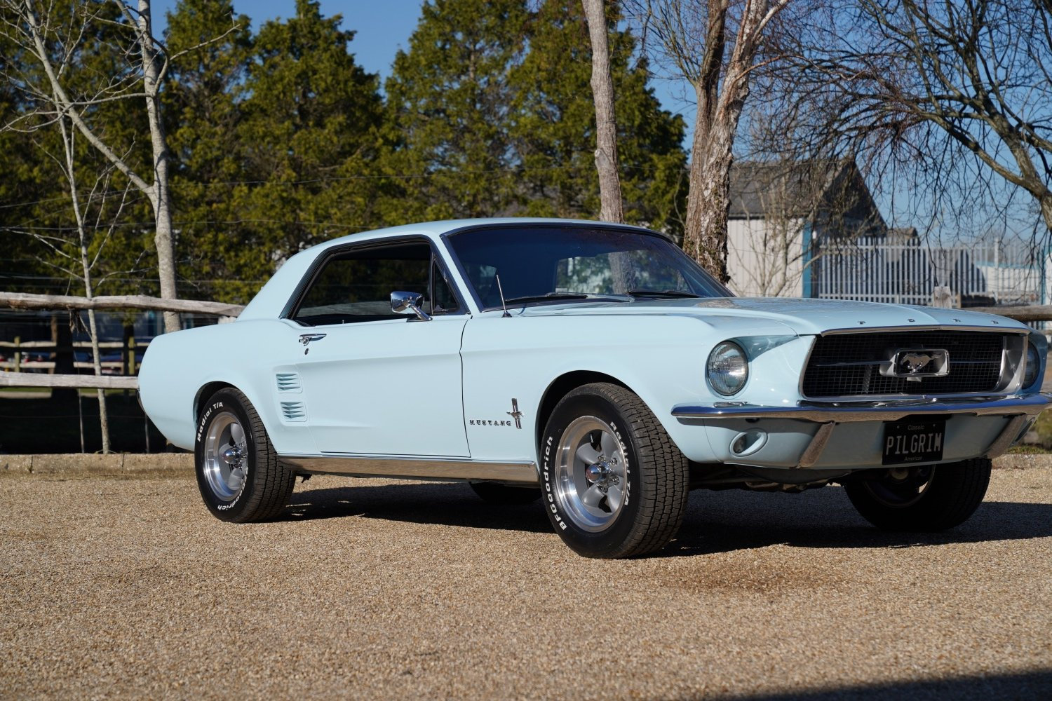 1967 Ford Mustang 289 Automatic Coupe Arcadian Blue SOLD (picture 2 of 6)
