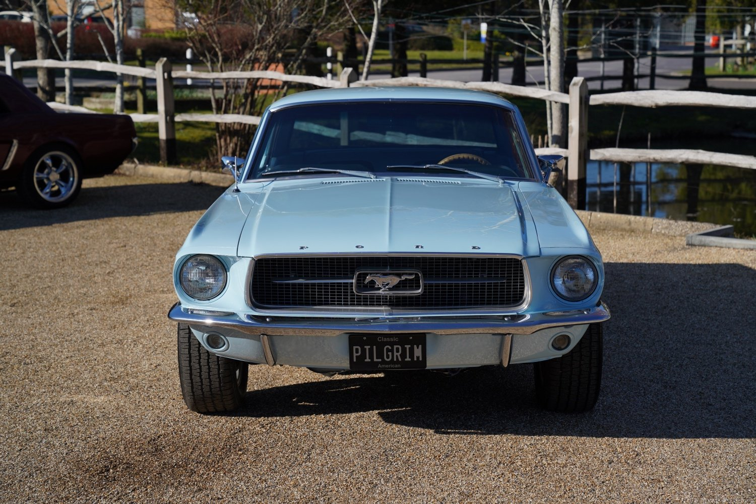 1967 Ford Mustang 289 Automatic Coupe Arcadian Blue SOLD (picture 3 of 6)