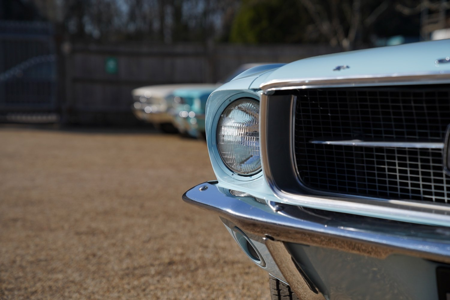 1967 Ford Mustang 289 Automatic Coupe Arcadian Blue SOLD (picture 4 of 6)