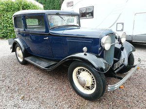 1932 Model B Ford Tudor Sedan, All Steel, UK Car For Sale