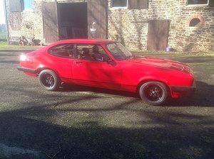 Classic Red Ford Capri Year 1983 - 98,000 miles For Sale