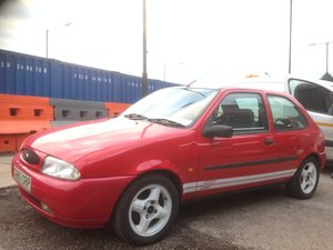 1998 FORD FIESTA MK4 ZETEC ST TRIBUTE 1.25 Full Mot Aug 2020