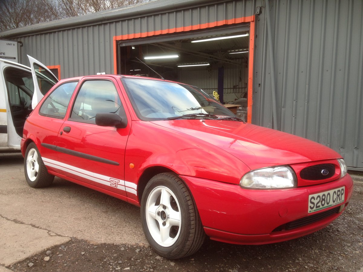 1998 FORD FIESTA MK4 ZETEC ST TRIBUTE 1.25 mot end august 2019 For Sale (picture 2 of 6)