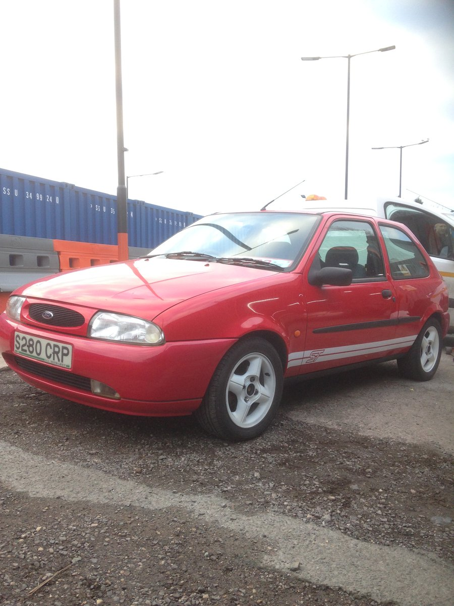 1998 FORD FIESTA MK4 ZETEC ST TRIBUTE 1.25 mot end august 2019 For Sale (picture 3 of 6)
