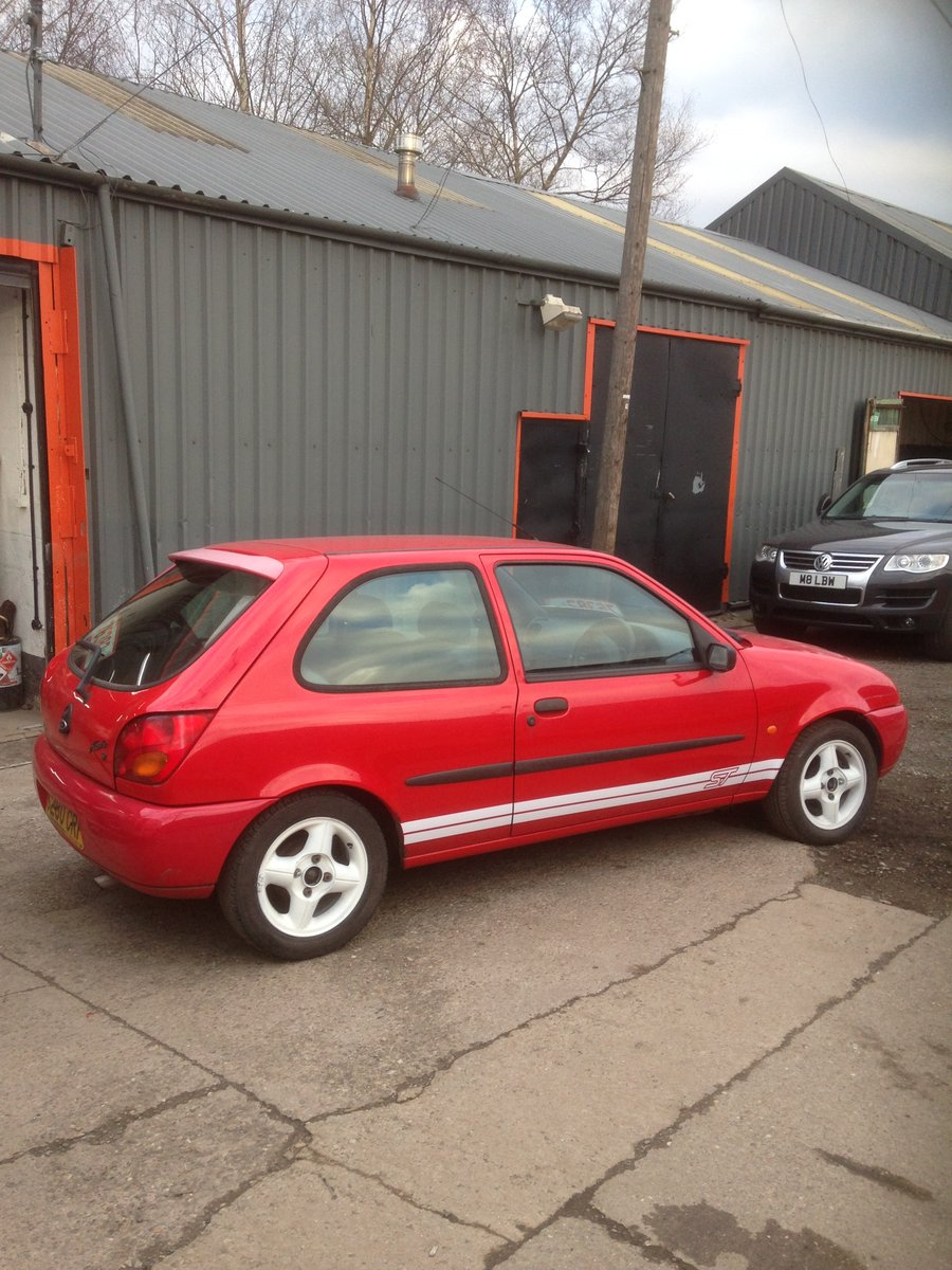 1998 FORD FIESTA MK4 ZETEC ST TRIBUTE 1.25 mot end august 2019 For Sale (picture 5 of 6)