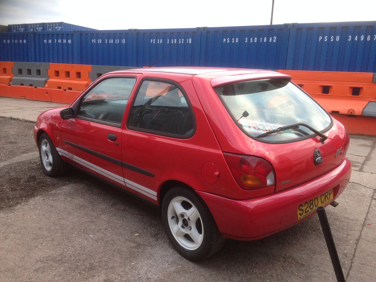 1998 FORD FIESTA MK4 ZETEC ST TRIBUTE 1.25 mot end august 2019 For Sale (picture 6 of 6)