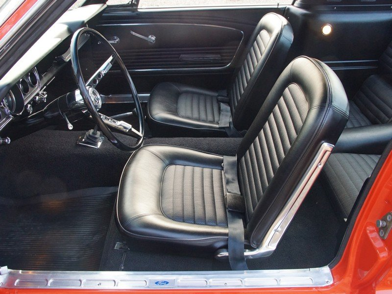 1966 Ford Mustang Fastback 2+2 manual, original color scheme For Sale (picture 3 of 6)