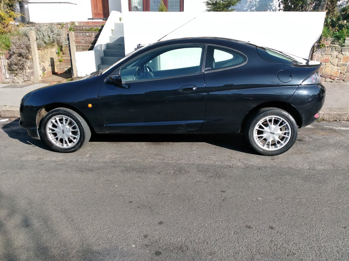 Ford Puma Black 1.7 3dr Coupe 2000 For Sale (picture 6 of 6)