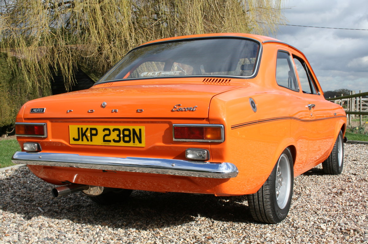 1974 Ford Escort MK1 Mexico AVO . For Sale (picture 4 of 6)