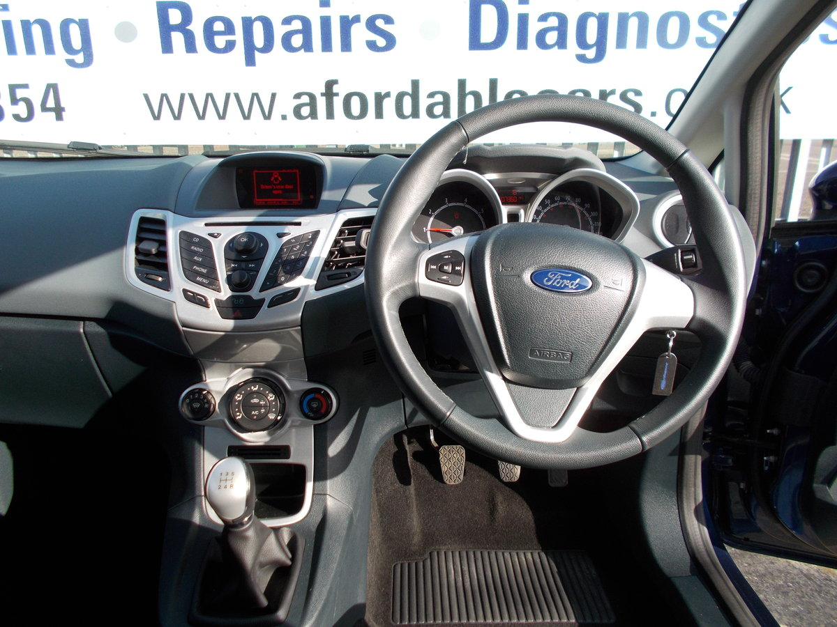 2011 Ford Fiesta 1.2 Zetec ONLY 7000 MILES SOLD (picture 6 of 6)
