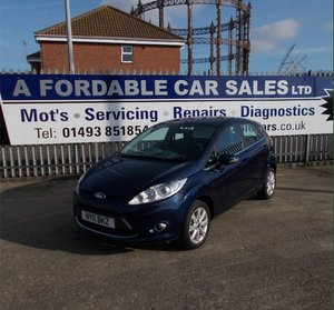 2011 Ford Fiesta 1.2 Zetec ONLY 7000 MILES SOLD