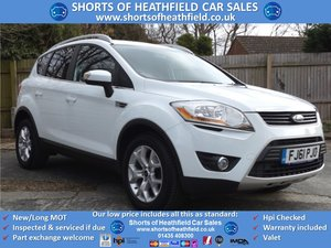 2011/61 Ford Kuga 2.0TDCi (140ps) Zetec - Low Mileage - 5 Dr SOLD