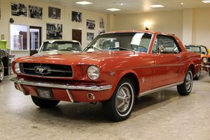 1965 1964 1/2 Ford Mustang 289 4.7 V8 Coupe SOLD