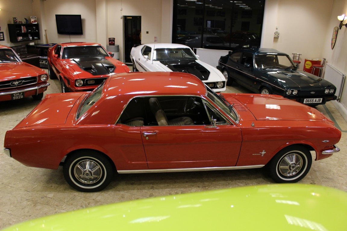 1965 1964 1/2 Ford Mustang 289 4.7 V8 Coupe SOLD (picture 2 of 6)