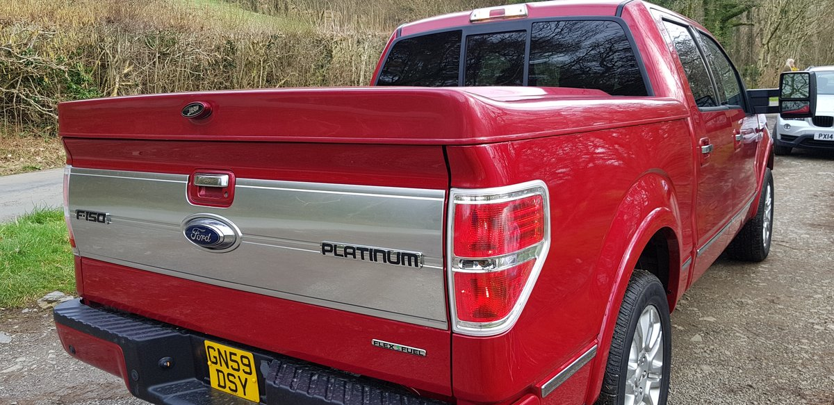 LHD Ford -150 2009 4x4 BRC LPG-160L Tank For Sale (picture 4 of 6)