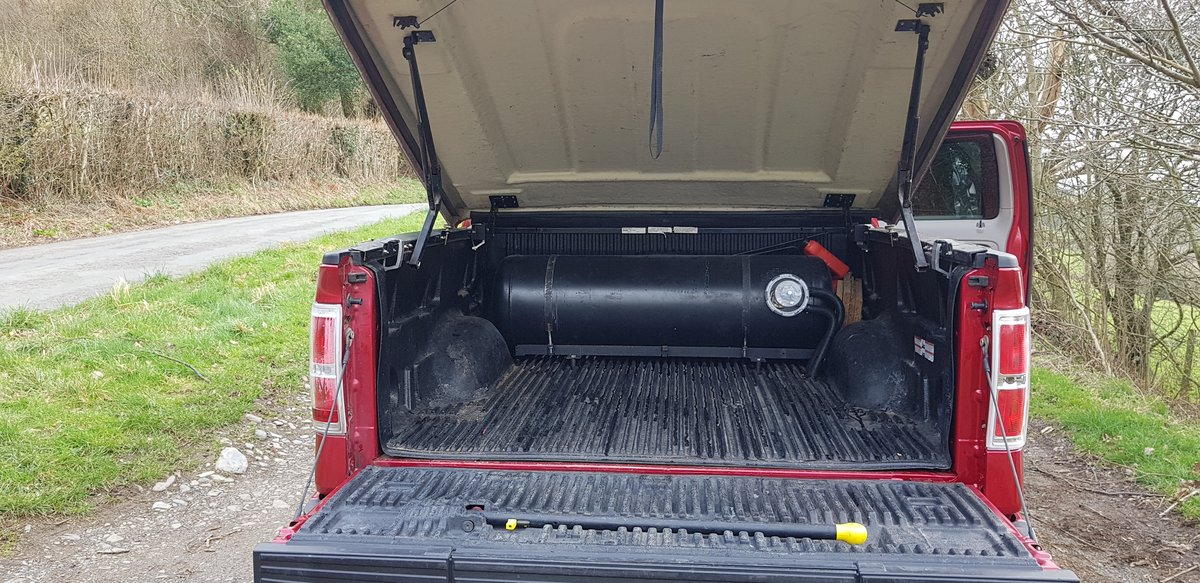 LHD Ford -150 2009 4x4 BRC LPG-160L Tank For Sale (picture 6 of 6)