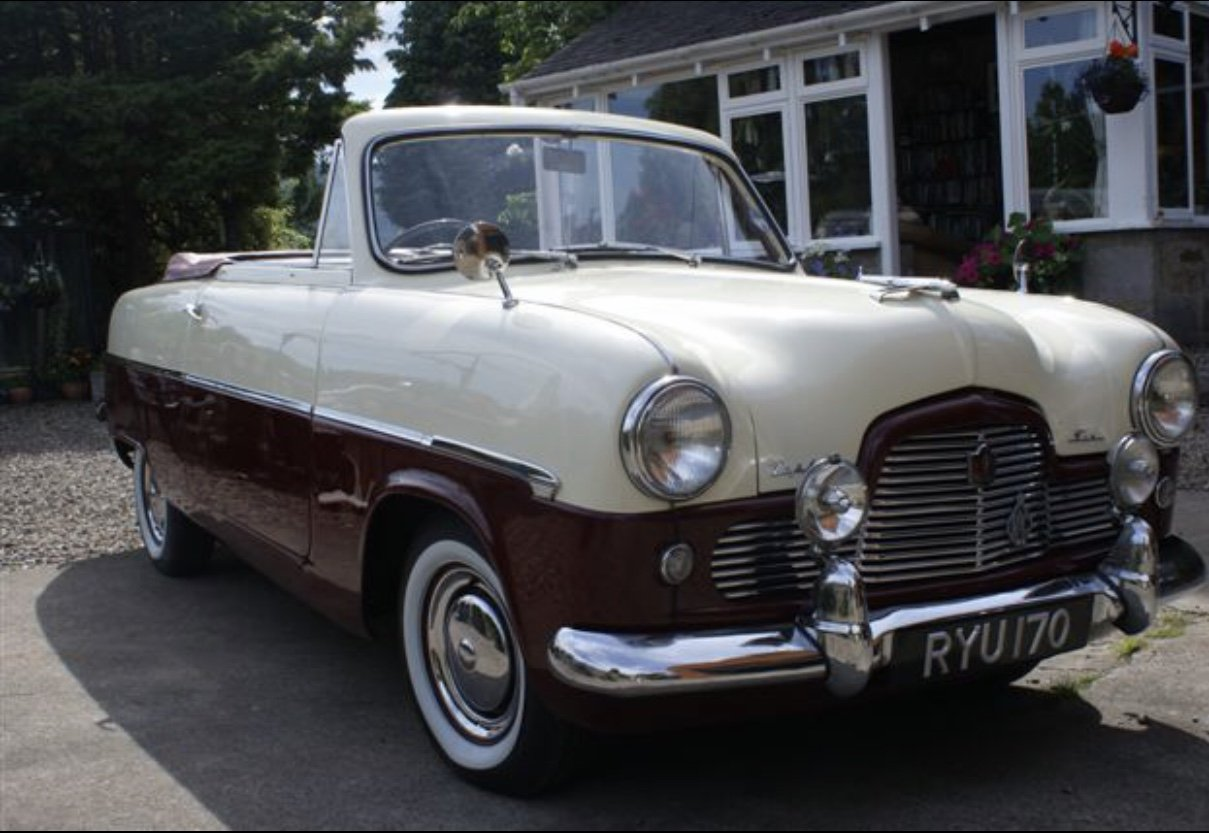 1955 Zephyr Zodiac Mk1 Convertible For Sale (picture 1 of 3)