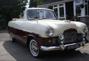 1955 Zephyr Zodiac Mk1 Convertible For Sale
