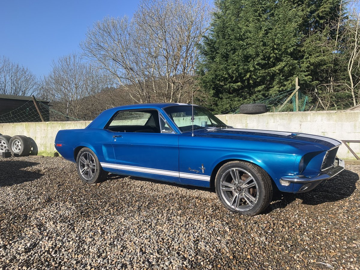 1968 acapulco blue racing stripes auto finance avail for sale