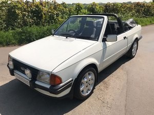 1985 Ford Escort 1.6i Cabriolet - Stunning Car For Sale by Auction